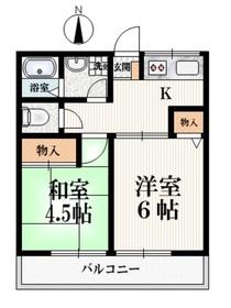江古田駅 徒歩7分1階Fの間取り画像