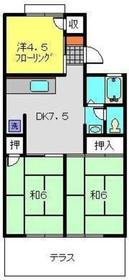 旭レジデンスB1階Fの間取り画像