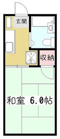 ファミーユ・サン1階Fの間取り画像