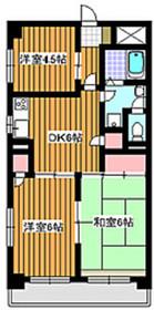 フリーダム梅の木2階Fの間取り画像