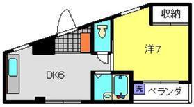 コーポミスズ4階Fの間取り画像