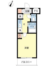スカイコート文京白山第53階Fの間取り画像
