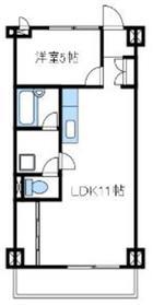 アルテミスm's3階Fの間取り画像