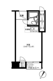 シャルマン文京千駄木2階Fの間取り画像