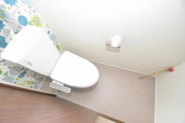 Charme Lacine(シャルム ラシーネ) 白くてピカピカのトイレですね。癒しの空間になりそう。