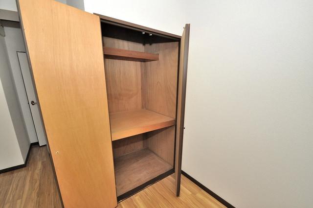 クリスタルアーク もちろん収納スペースも確保。いたれりつくせりのお部屋です。