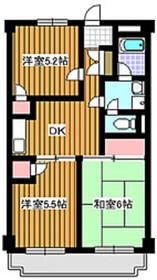 成増駅 徒歩12分4階Fの間取り画像