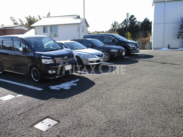 海道やまびこ館駐車場