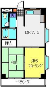 コスモ佐野第23階Fの間取り画像