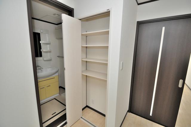 エストレヤ荒川 もちろん収納スペースも確保。お部屋がスッキリ片付きますね。