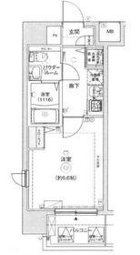 レグラス新横浜駅前6階Fの間取り画像