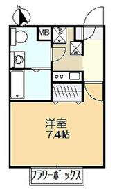 リブリ・エムール2階Fの間取り画像