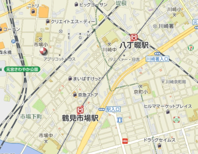 Tiara横浜鶴見Ⅱ案内図