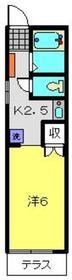 ソレイユ杉田1階Fの間取り画像