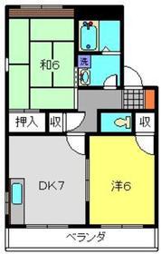 高田駅 徒歩11分2階Fの間取り画像