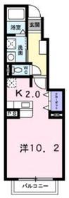 ヌーベル211階Fの間取り画像