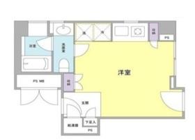 オーシー御茶ノ水5階Fの間取り画像