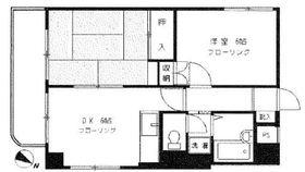 大倉山エステハイツ第32階Fの間取り画像