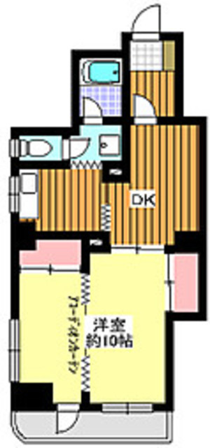 地下鉄赤塚駅 徒歩6分間取図