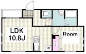 ラディアン横浜1階Fの間取り画像