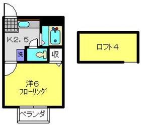 ペガサスⅠ1階Fの間取り画像