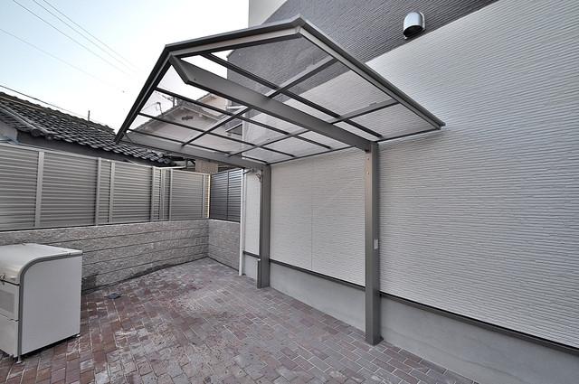 ALEGRIA東大阪 屋内にある駐輪場は大切な自転車を雨から守ってくれます。
