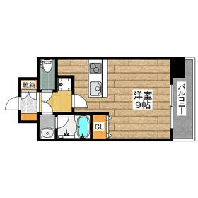 玉川駅 徒歩7分7階Fの間取り画像
