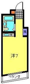 ネオマイム新子安8階Fの間取り画像