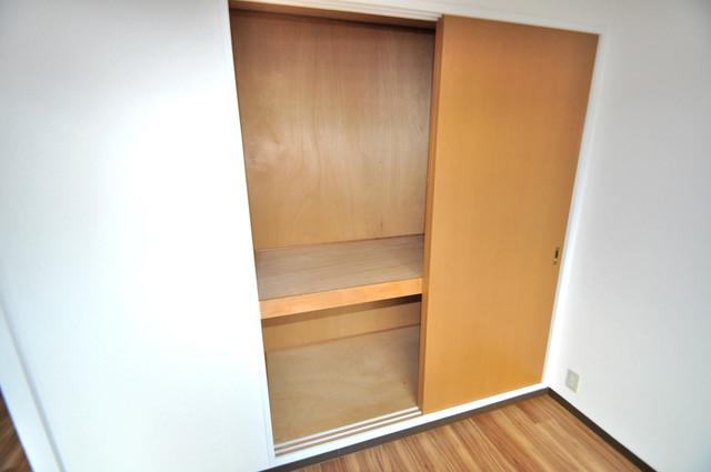 メダリアン巽 もちろん収納スペースも確保。いたれりつくせりのお部屋です。