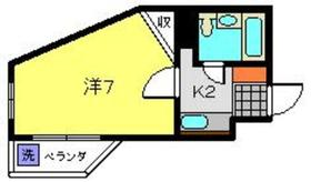 エバーグレース子安2階Fの間取り画像