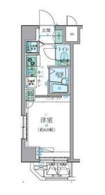 リヴシティ横濱新川町8階Fの間取り画像