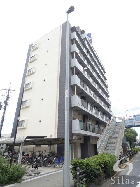 八尾市久宝園1丁目の賃貸マンションの外観