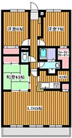 新高島平駅 徒歩22分2階Fの間取り画像