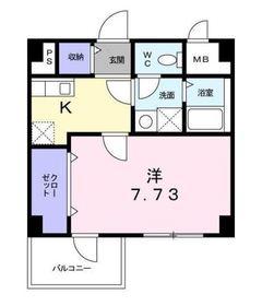 T&A横浜白金2階Fの間取り画像
