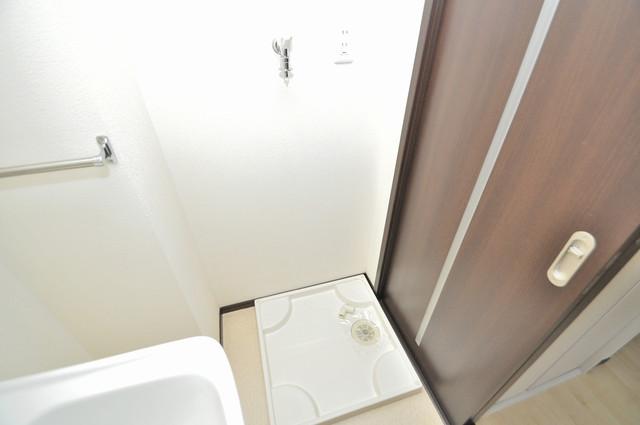 エストレヤ荒川 洗濯機置場が室内にあると本当に助かりますよね。