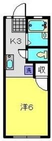 アンシャンテ1階Fの間取り画像