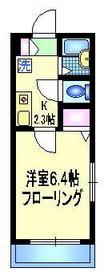 エスポワール1階Fの間取り画像