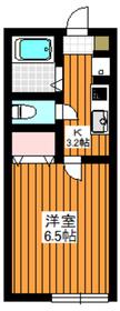 (仮称)エスパーダ赤塚2階Fの間取り画像