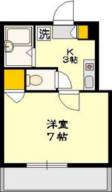 ルミエール藤3階Fの間取り画像
