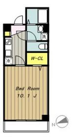 ラ・プランタン2階Fの間取り画像
