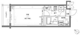 フェニックス横濱関内BAY MARKS5階Fの間取り画像
