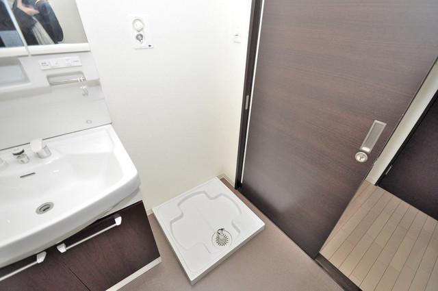 アビタシオン巽 室内に洗濯機置き場があれば雨の日でも安心ですね。