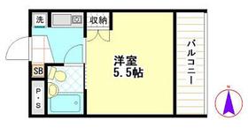 武井ビル3階Fの間取り画像