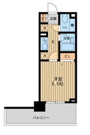 横浜駅 徒歩6分9階Fの間取り画像