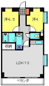 KNSビル3階Fの間取り画像
