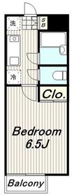 ラヴィエゼ4階Fの間取り画像