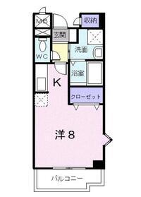 上板橋駅 徒歩14分3階Fの間取り画像