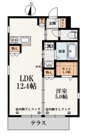 ひばりケ丘駅 徒歩11分1階Fの間取り画像