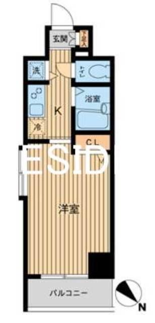 秋葉原駅 徒歩7分間取図
