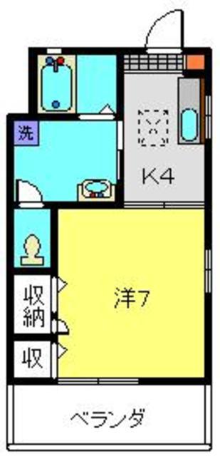 上星川駅 徒歩16分間取図